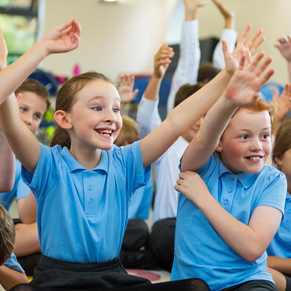 Primary School Kids in Class
